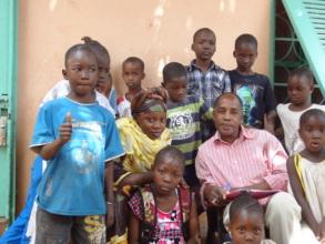 ACFA Children with Volunteers