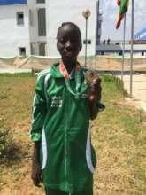 Diakassan with Bronze Medal