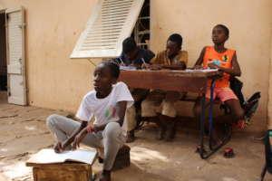 Homework time at ACFA-Mali