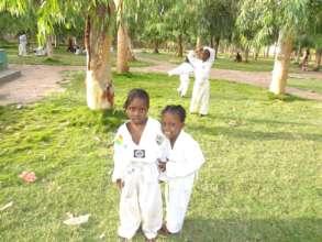 Kids at teakwood