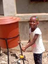 Salimata Washing Hands