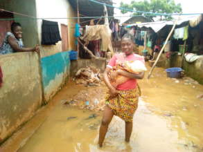 Help Flood Victims in Culvert community, Freetown