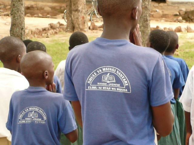 6,000 BREAKFASTS A WEEK FOR CHILDREN IN TANZANIA