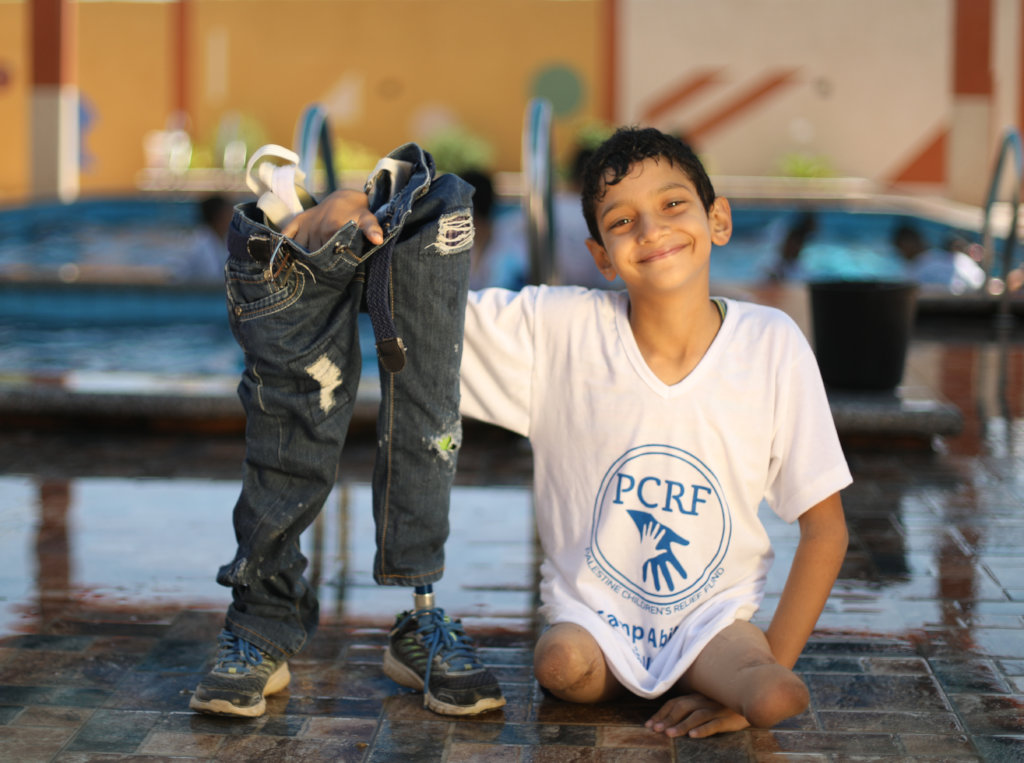 Wheelchairs for Disabled Refugee Children