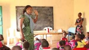 Informal School Teacher & Students
