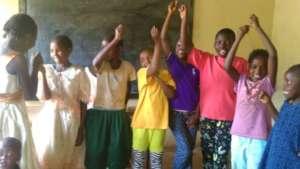 Kids enjoying learning at our Informal School