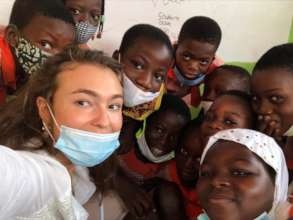 Russian Volunteer Teacher; Ghana
