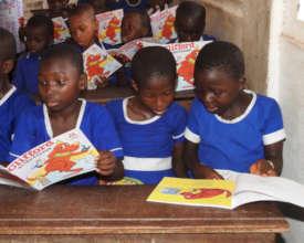 CSAG School Images Update ; Kids Love Reading
