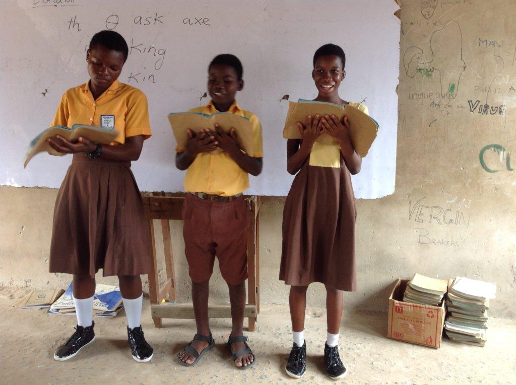 Books for Kids Ghana Africa