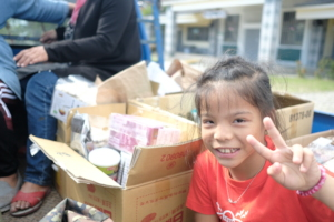 Necessities delivery with the community in Taitung