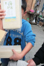 Holding up organic rice delivery