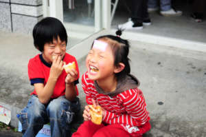 Sponsor meals for indigenous Taiwanese children