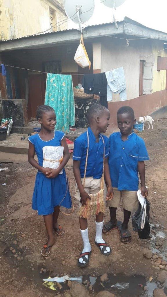 2500 Waterproof Backpacks 4 students Sierra Leone