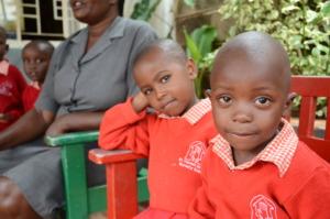 St. Vincent's Nursery School Children at Recess