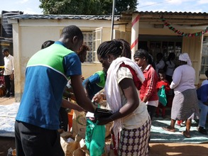 63 families benefit from food basket distribution