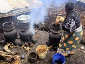 Changaa Brewer in Kibera. Photo Credit: Reuters