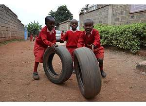 At Play Rolling Tires