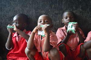 Sports Day - Children Drinking Milk