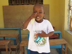 You can help build him a new classroom!