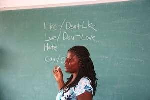 Haitian Teachers Work with EDV Volunteers