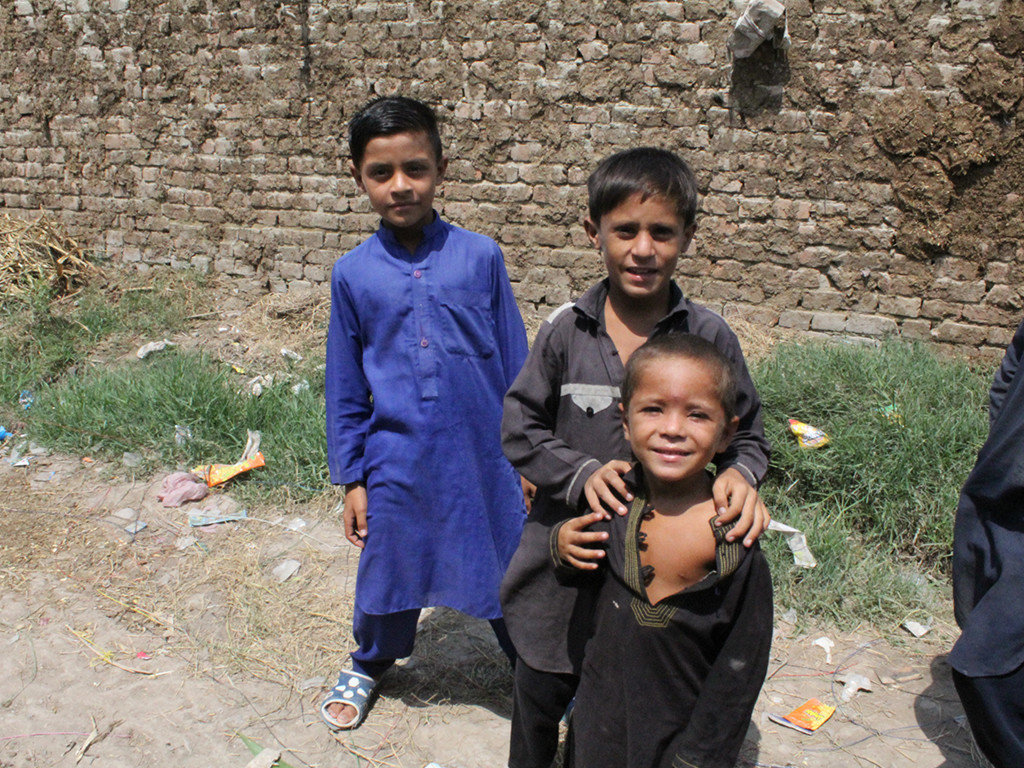 50 street children resume school in rural Pakistan