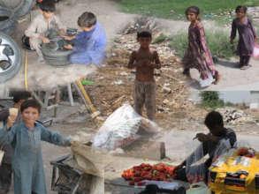 Street Children Earn Living