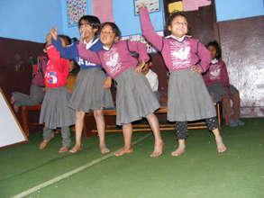 Dancing contest; popular extracurricular activity.
