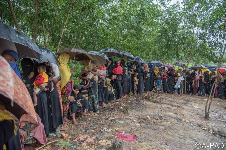 Medical Support for Rohingya women and children