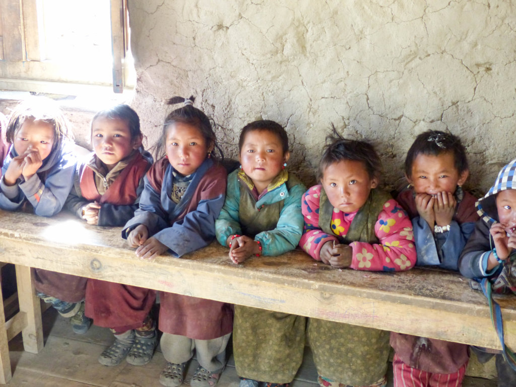 Winter Schools in the remote mountains of Nepal
