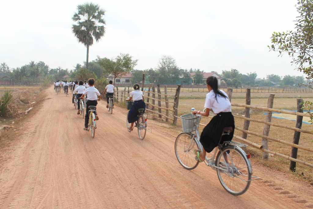 Rural Kids need bikes to attend school