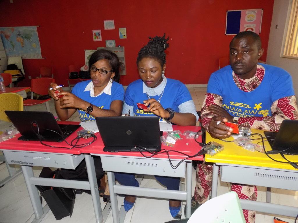 Upskill 120 public school STEM Teachers in Nigeria