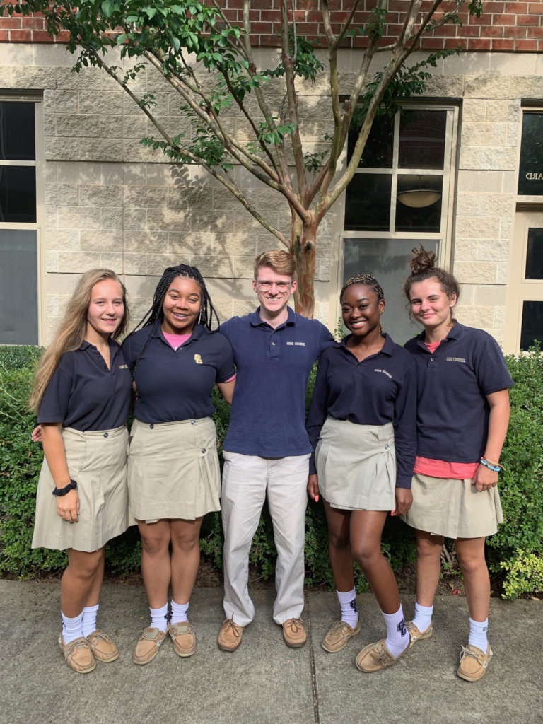 Our Lady of Good Counsel Students Creating Change