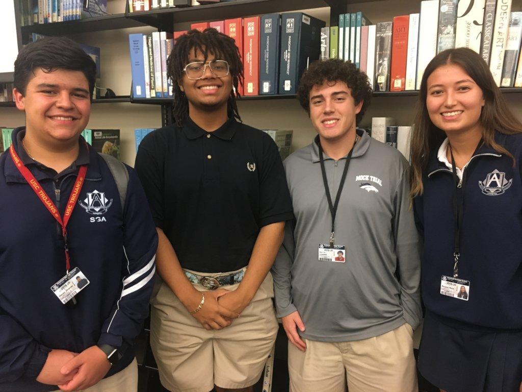 American Heritage Students Creating Change