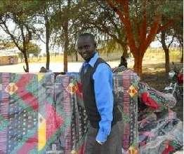 Daniel unloading mattresses