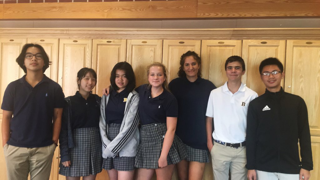 Bullis High School Students Creating Change
