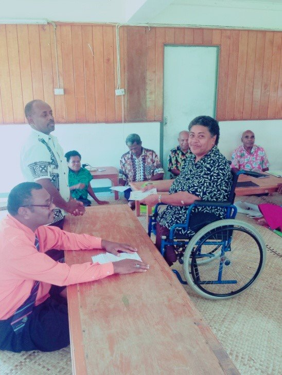 EMPOWERING PEOPLE LIVING WITH DISABILITIES