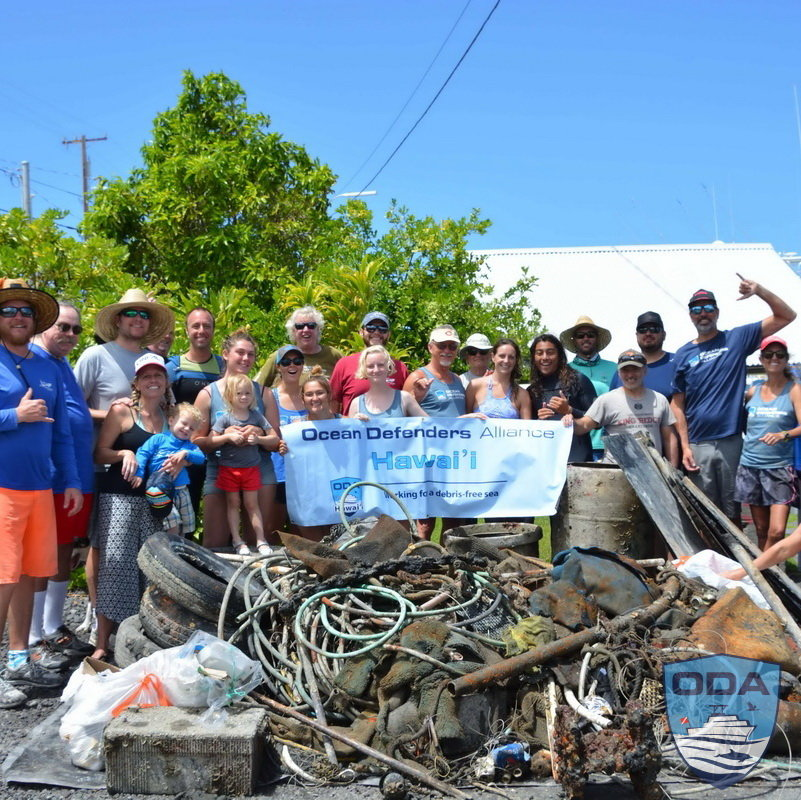Clean-Up 2000lbs of Trash from the Ocean & Beaches
