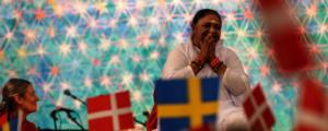 Amma in Copenhagen, 2019