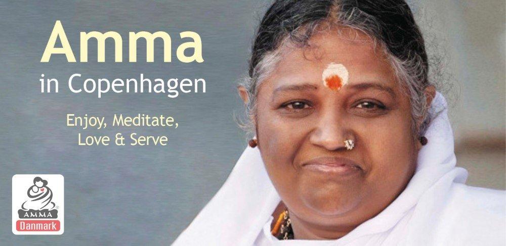 Support event: Amma in Copenhagen, October 22-23