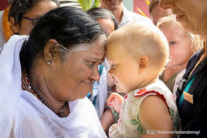 Amma and baby