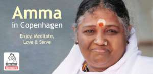Amma in Copenhagen - Enjoy, Meditate, Love & Serve