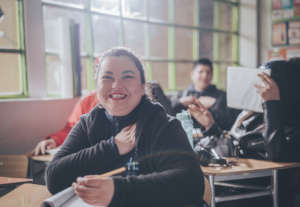 Get 16 teens out of poverty through education