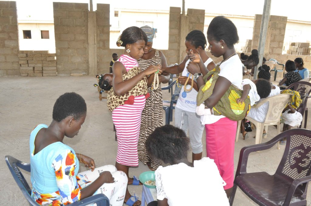 Empower 80 teenage mothers with economic skills