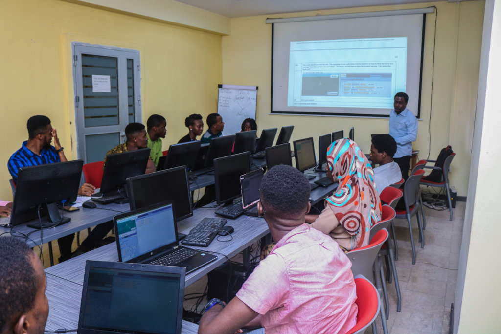 Tech Training for 100 young people in Lagos.