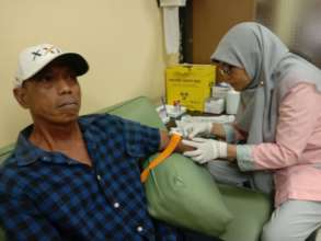 Received medical check-up