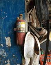 Mamat's old fire extinguisher