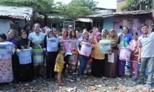 Cirendeu Community Gets Clean Water