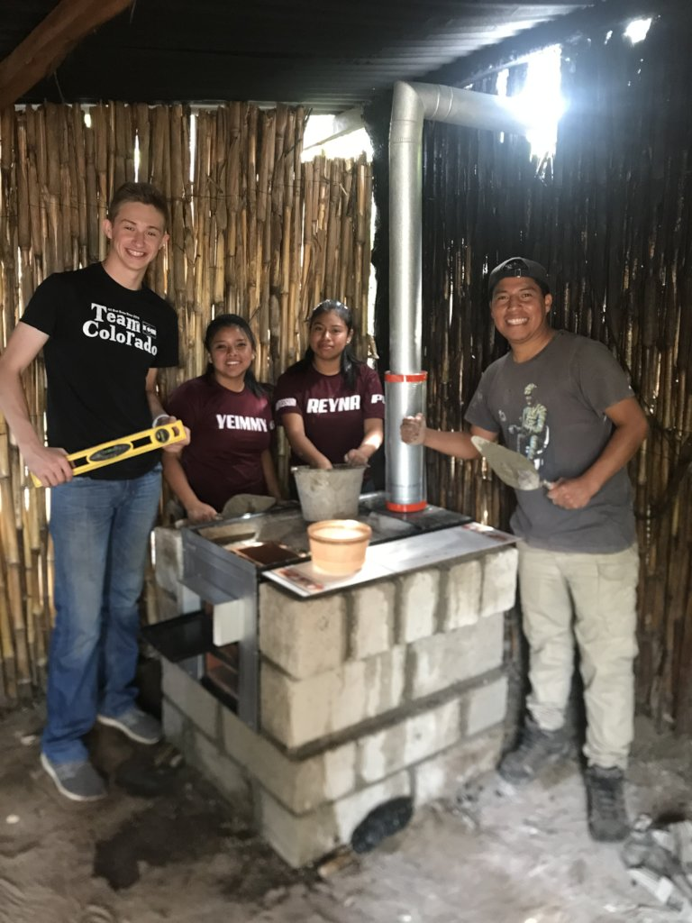 40 Clean & Efficient Cook Stoves in Guatemala