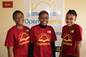 The Open Dreams Girls are excelling