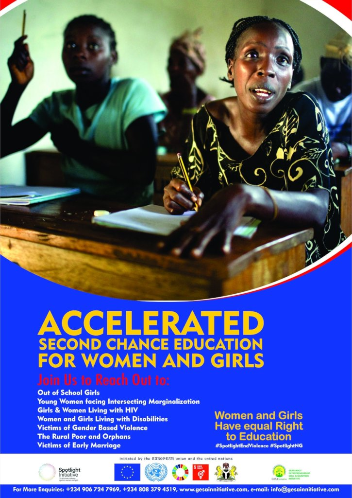 Mass  Education Support   for 100000 women & Girls